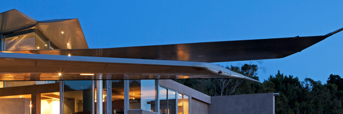 Highlight der Architektur: das Wing House / Flugzeughaus