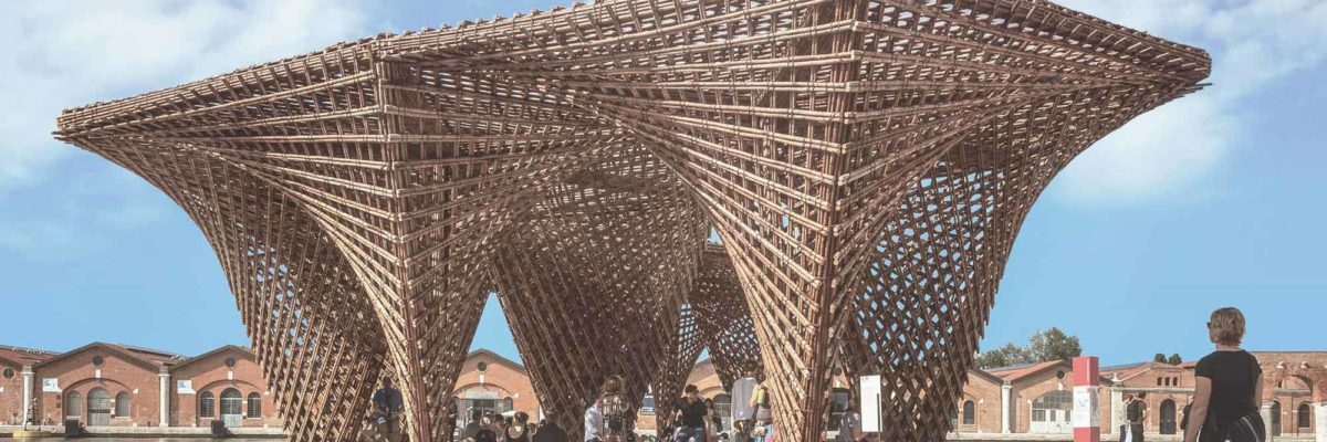 Das Bamboo Stalactite von Vo Trong Nghia Architects beim World Architecture Festival 2018