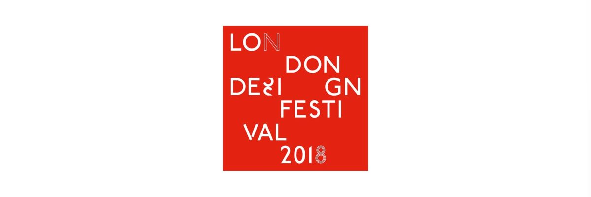 Logo des London Design Festivals 2018