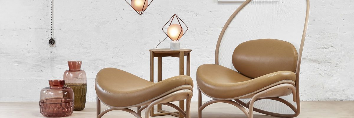 London design-trends 2019: Lounge Chair aus Leder
