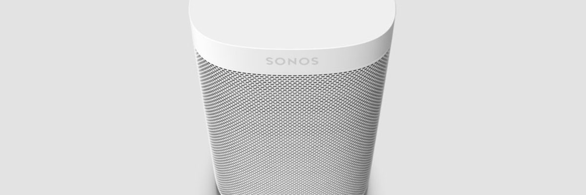 Sonos One in Weiß